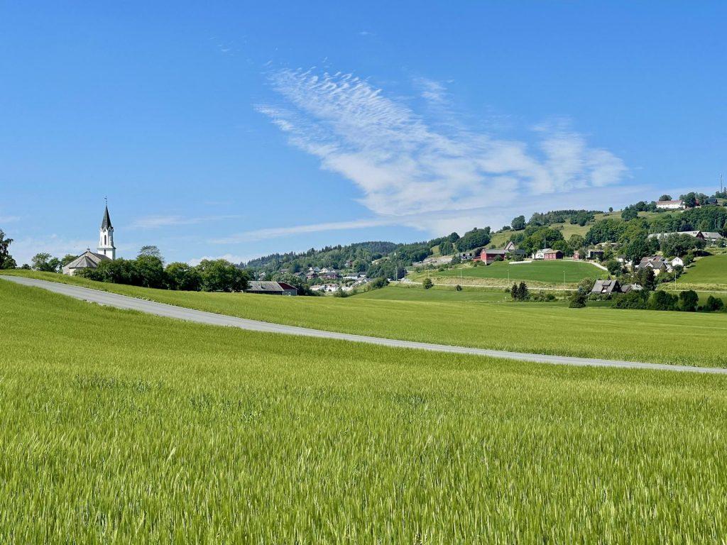 Kulturlandskapet preger Straumen og Inderøy og gir gode opplevelser og ro i sjela.